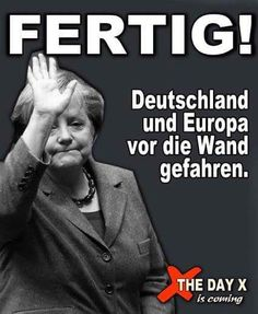 Merkel muss weg! Evil World, Political Events, Love Culture, Adult Humor, Funny Pictures, Funny Pics, Funny Stuff, Fun Facts, Knowledge