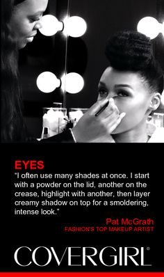 Tips from P and G Global Creative Design Director and one of fashion's top makeup artist Pat McGrath.