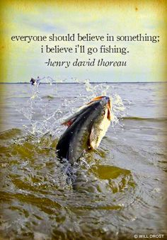 Mr Thoreau always knew what to say about anything in the great outdoors.