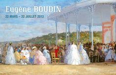 OTH 855 - L'affiche de l'expo Eugène Boudin.