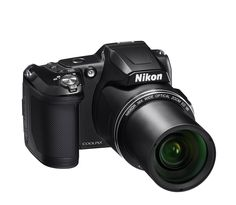 Amazon.com : Nikon COOLPIX L840 Digital Camera with 38x Optical Zoom and Built-In Wi-Fi (Black) : Electronics