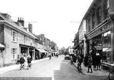 Photo of Farnham, West Street 1924 from Francis Frith Farnham Surrey, Local History, Street View