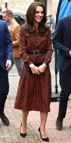 Princess Kate Wears Her Royal Christmas Cheer While 'George Is Already Ripping Open HisPresents'