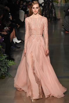 WedLuxe– Couture Spring-Summer 2015: Elie Saab | Via Vogue.co.uk Follow @WedLuxe for more wedding inspiration!
