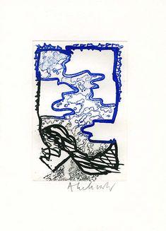 Pierre Alechinsky Tachisme, Art Cobra, Fata Morgana, Gravure Illustration, Visual Communication, Art Plastique, Abstract Expressionism, Creative Design, Illustrators