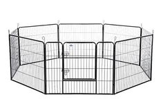 I just bought this and love it. Confidence Pet Heavy Duty 8 Panel Playpen Dog Play Pen / Training Exercise Yard- 32 Inches . you can see what others said about it here http://bridgerguide.com/confidence-pet-heavy-duty-8-panel-playpen-dog-play-pen-training-exercise-yard-32-inches/