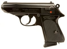 Post-war Walther PPK pistol.
