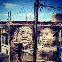 Le street-art selon Vhils