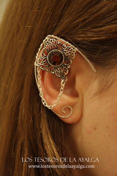 Elvish earring  ear cuff  elvish ear by Ayalga on Etsy, €9.00
