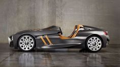 BMW 328 Hommage Concept. A tribute to the BMW 328 roadster from the late '30's. Way cool...