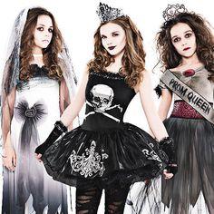 Zombie Girls halloween costumes