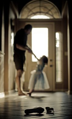 dancing+with+daddy | Dancing with Daddy Bokeh