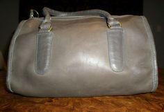 Vintage gray coach satchel on ebay!! Findersthings