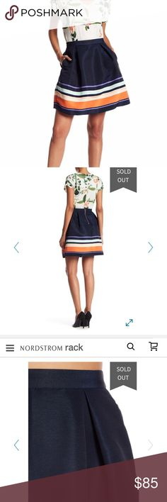 NWT Ted Baker Darlaa skirt Brand new with tags. Never worn. Purchased online and found it wasn't really my style. See last two images for more product details. I ship same or next day 😊 Ted Baker London Skirts Circle & Skater