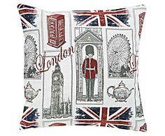 Funda de cojín Londres I