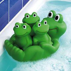 Frog Family Bath Toys $6.99