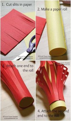 you know you can make your own Chinese lanterns in under 5 minutes? These are perfect for Chinese New Year decor or as a fun activity for kids! Chinese New Year Dragon, Chinese New Year Crafts For Kids, Chinese New Year Activities, Chinese New Year Party, Chinese New Year Design, Chinese Crafts, Chinese New Year Decorations, New Years Activities, New Years Decorations