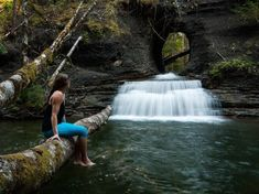 Things to See Before You Die: 8 Waterfalls of Vancouver Island Places To Travel, Places To Visit, Travel Stuff, Holiday Places, Beautiful Waterfalls, Beautiful Islands, You're Beautiful, Vancouver Island, British Columbia