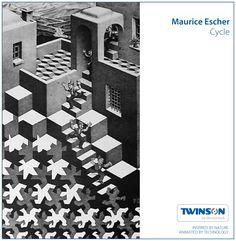 Escher – Cycle #escher #twinson #deceuninck
