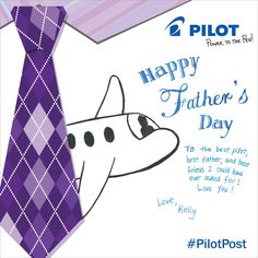 From one Pilot to another, Happy Father's Day!