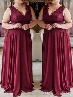 Burgundy Evening Dresses 2019 New A-line Prom Dress Middle East Formal Cheap Vestido De Soiree Pageant Wear vestido de novia