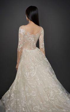 Featured Wedding Dress: Lazaro;www.jlmcouture.com/Lazaro; Wedding dress idea.