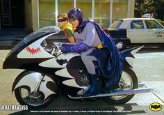 Bat cycle    Off to save Gotham City, once again.