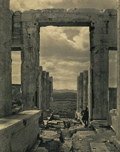 The Propylaia to the Acropolis, Athens; Braun, Clément & Cie (French, 1889…