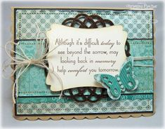 Sympathy Card by cmf1216 - Cards and Paper Crafts at Splitcoaststampers