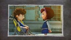 walt disney cortos de pixar ajedrez pixar, animacion 3d