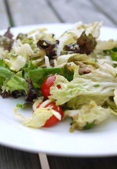 Experimente aus meiner Küche: Thunfisch-Salat mit Walnussdressing