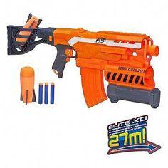 Hasbro Nerf NITRO double Break blaster set Doux Dart Balle Pistolet Blaster 5 ans