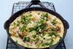 Juusto-sardiinimunakas ✦ Ruokaisa munakas on arkiruokaa parhaimmillaan. Nopeaa, helppoa, mutta aina niin hyvää! http://www.valio.fi/reseptit/juusto-sardiinimunakas/