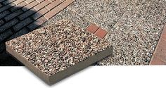 Exposed Aggregate patio stone is designed for outdoor living and provides the look of natural beauty. With tiny stones embedded in a strong concrete base, this patio stone will bring elegance to any patio or pathway project. This durable concrete product will maintain the beauty and colour over time and creative touch to all landscape projects.