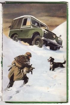 // 'Land Rover to the rescue' (by Robert Ayton Ladybird Books 1962)