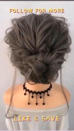 Easy Updos For Medium Hair, Work Hairstyles, Wedding Hairstyles For Long Hair, Short Wedding Hair, Braids For Short Hair, Pretty Hairstyles, Medium Hair Styles, Long Hair Styles, Box Braids