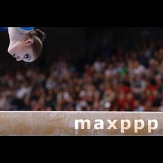 Aliya Mustafina of Russia performs on the balance beam during the Women's Apparatus Finals at the European Men's and Women's Artistic Gymnastics Championships at the Postfinance Arena in Bern, Switzerland, 05 June 2016.  EPA/PETER KLAUNZER (MaxPPP #photo #photos #pic #pics #picture #pictures #art #beautiful #instagood #picoftheday #photooftheday #color #exposure #composition #focus #capture #moment #sport #photojournalism #photojournalisme #maxppp