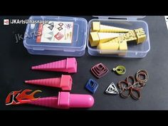 HOW TO: Use Paper Quilling Tool Border Buddy JK Arts 524 - YouTube