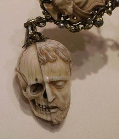 """Momento Mori..I saw this first hand at a museum...breath taking. """"I feel most alive, when confronting death"""""""