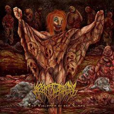 Crepitation - The Violence Of The Slams (2015)   Brutal Death Metal