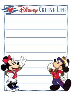"""Disney Cruise Line - Project Life Disney Journal Card - Scrapbooking. ~~~~~~~~~ Size: 3x4"""" @ 300 dpi. This card is **Personal use only - NOT for sale/resale** Logos/clipart belong to Disney. ***Click through to photobucket for more versions of this card***"""