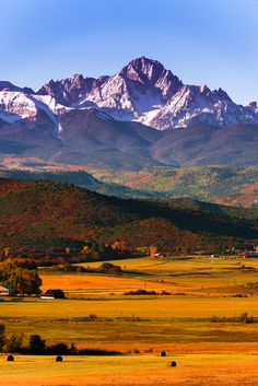 Mount Sneffels in autumn, Colorado -- Matt Payne Photography