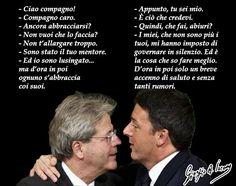 Quanto durerà l'amore tra Renzi e Gentiloni?