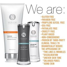 Feel better about showing off the amazing you with healthier skin! Nerium products cover multiple concerns with a 1-step system. Feel confident about trying it with a 30-day money back guarantee. #FollowLauraLives #antiaging #healthyskin