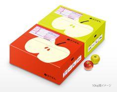 gino7さんの提案 - りんごのダンボール箱のデザイン制作 | クラウドソーシング「ランサーズ」
