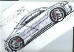 Martin Longmore - Audi TT sketch