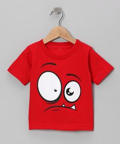 We've caught the monster that has been hiding in the closet! Soft and cuddly with a big, funny face, this tee will cause more chuckles than scares!100% cottonMachine wash; tumble dryImported