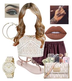 """Just something to post✨"" by itsjaylaa ❤ liked on Polyvore featuring H&M, IPANEMA, New Look, Michael Kors, Lime Crime and madebyme"