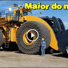 A maior pá carregadeira do mundo - LeTourneau L-2350!