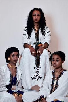 Adorn Abyssinia provides modern, East African especially the Horn of Africa inspired Jewellery. Focusing especially on Eritrean and Ethiopian Jewelry designs, we allow a space for traditional habesha jewelry to meet the modern. Ethiopian Beauty, Ethiopian Jewelry, Ethiopian Dress, Ethiopian Traditional Dress, Traditional Dresses, Beautiful Dark Skinned Women, Beautiful Black Women, African Women, African Fashion
